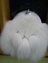 White Mink Sporran